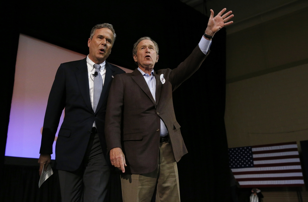 Jeb and George W Bush