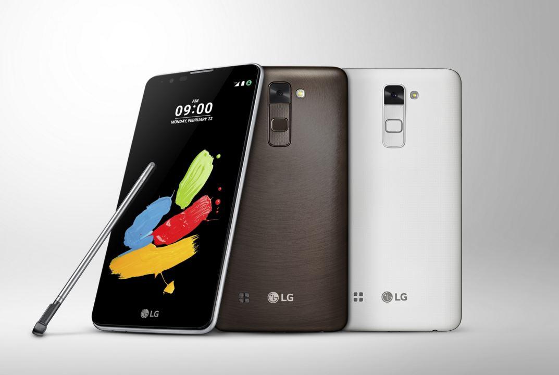 LG announces Stylus 2