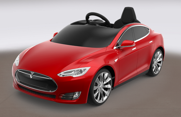 Tesla and Radio Flyer partner up to bring a little Tesla Model S for kids