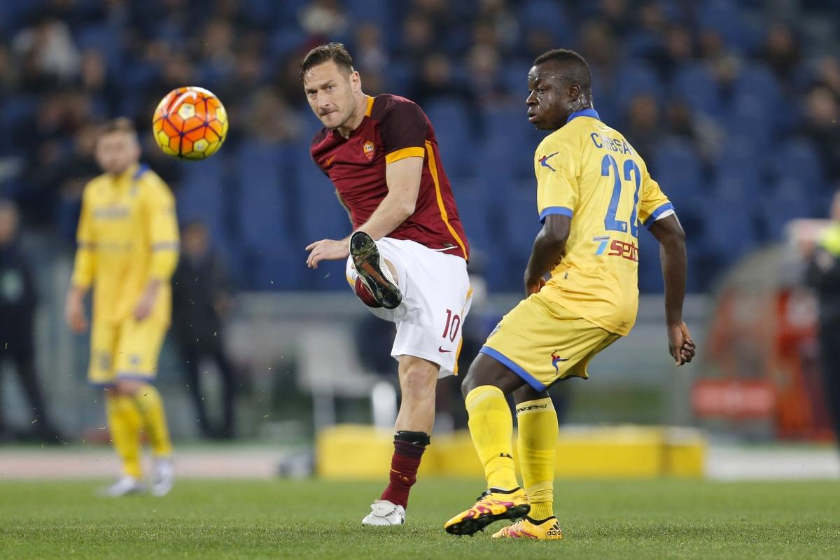 Francesco Totti & Raman Chibsah