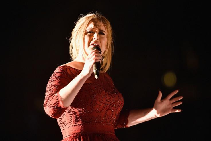 Adele Grammys performance