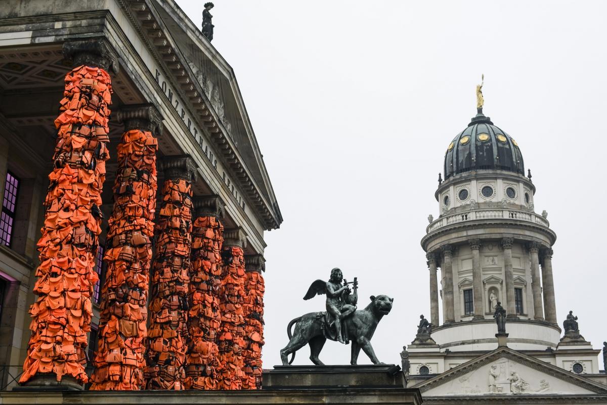 Weiwei art installation in Berlin