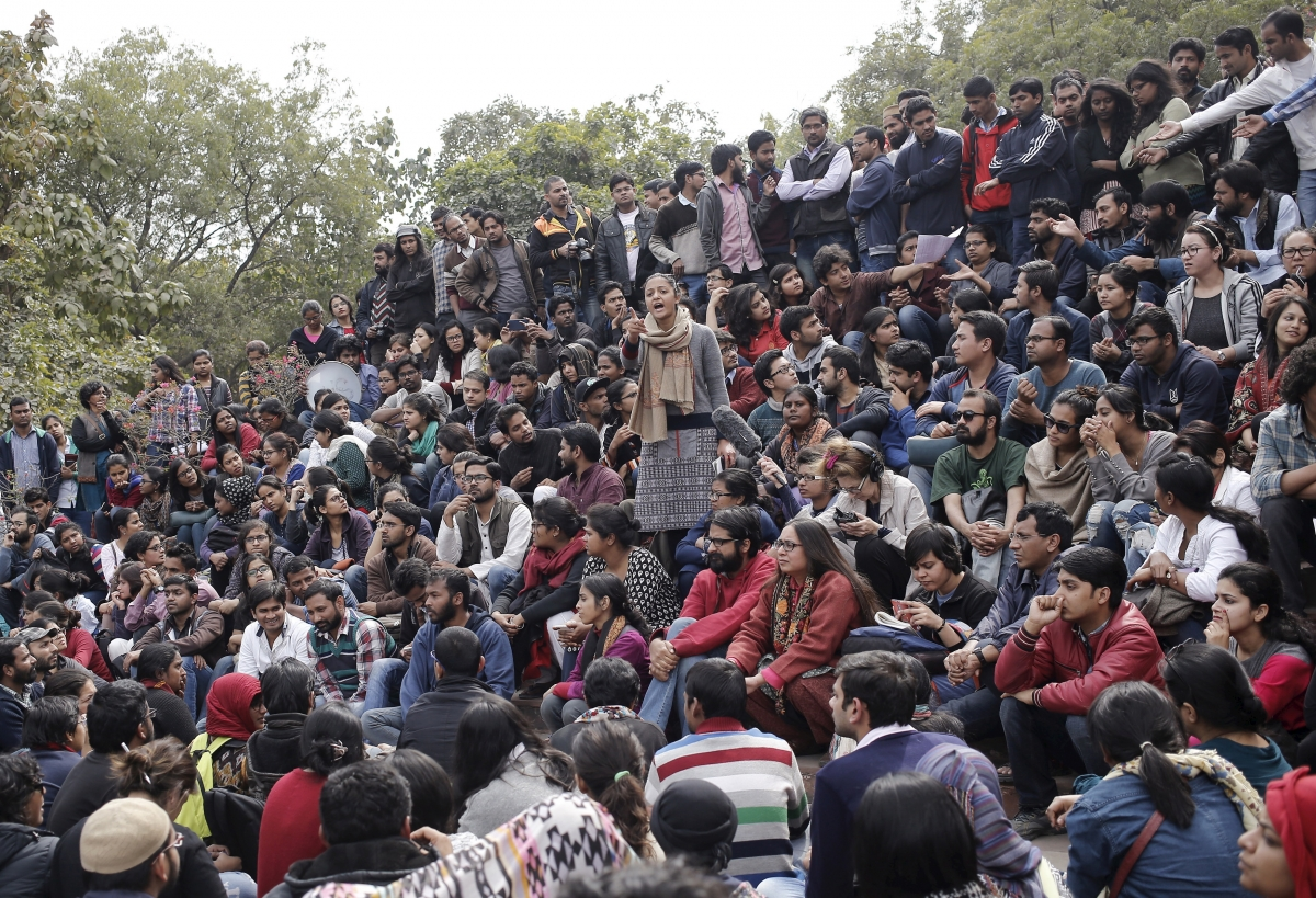 India JNU protests