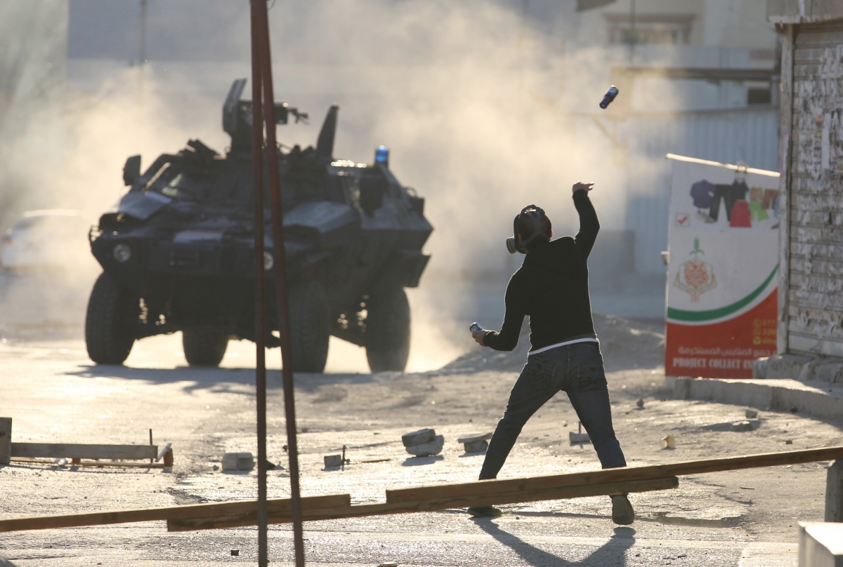 US journalist Anna Therese Day arrested Bahrain Sitra