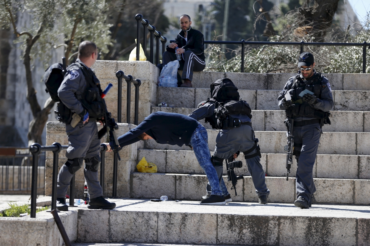 Damascus Gate arrests