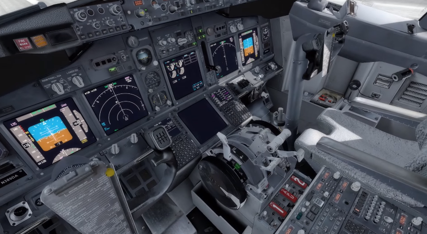 How to land a Boeing 737