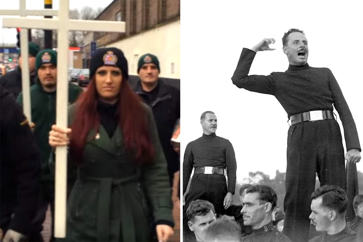 Britain First, Oswald Mosely