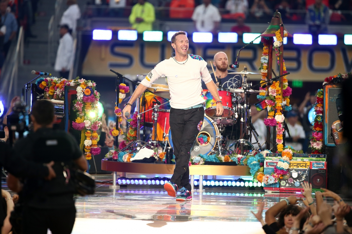 Coldplay Super Bowl