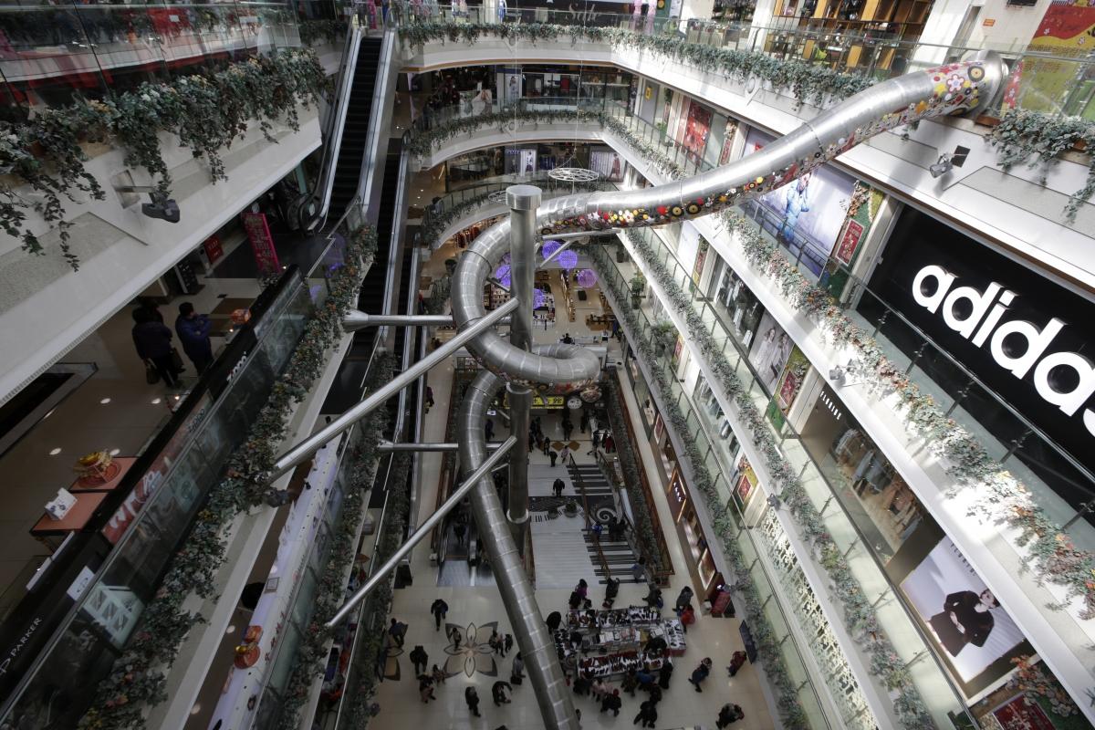 Shanghai slide