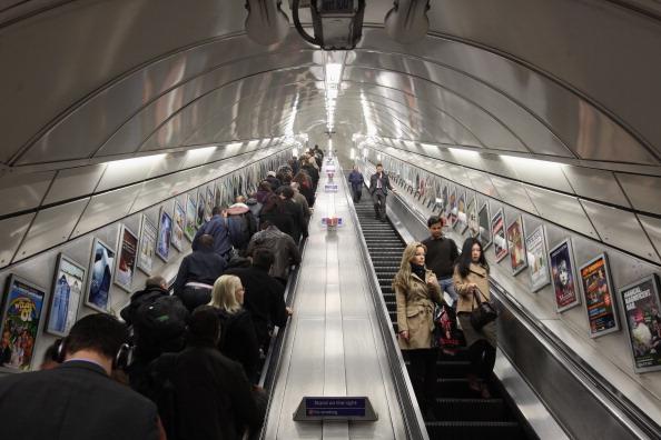 Angel tube station
