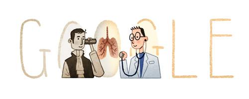 Google Doodle Laënnec