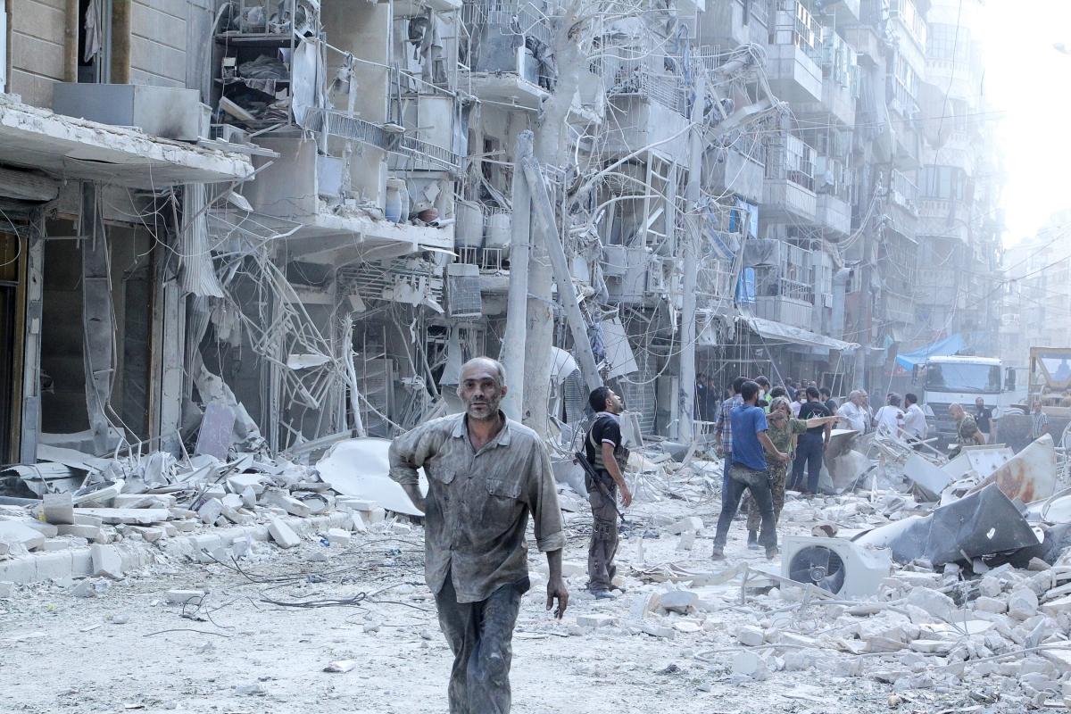 The Al-Shaar neighbourhood of Aleppo