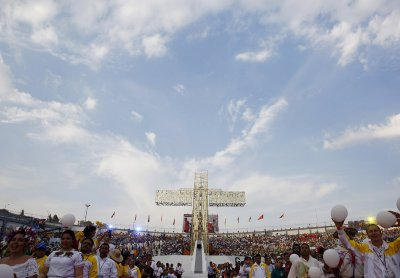 Pope Francis in Morelia