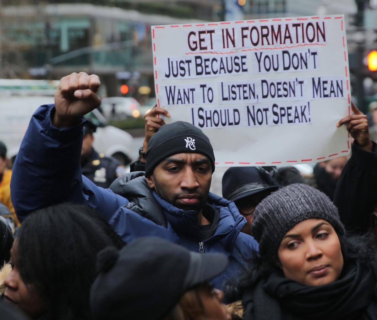 Anti-Beyonce protest
