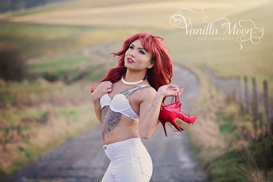 Miss Transgender UK Jai Latto