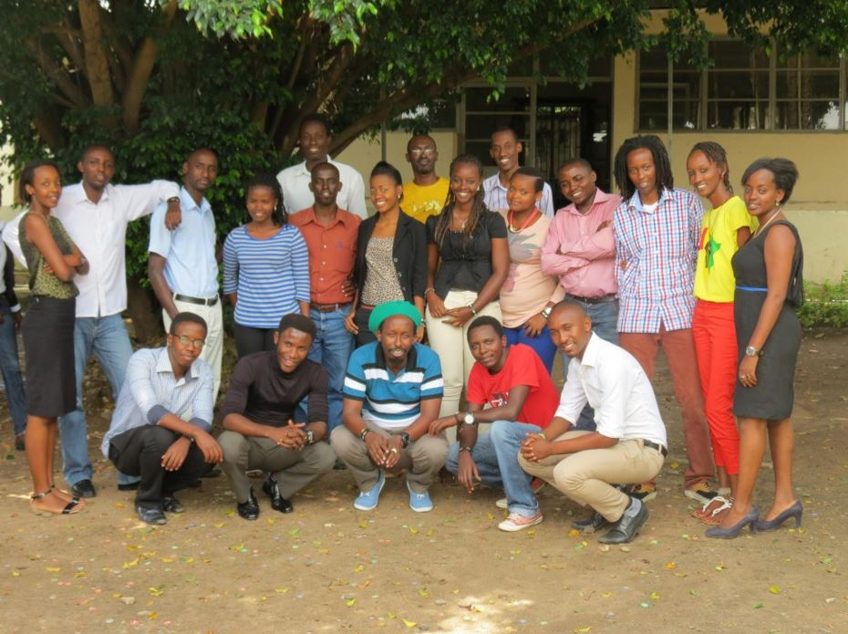 Burundi's Yaga Collective bloggers