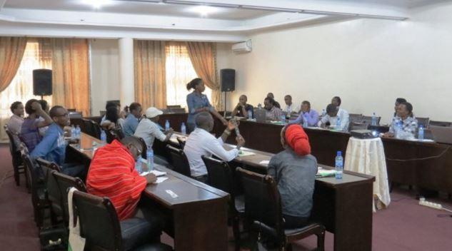 Burundi's Yaga Collective bloggers
