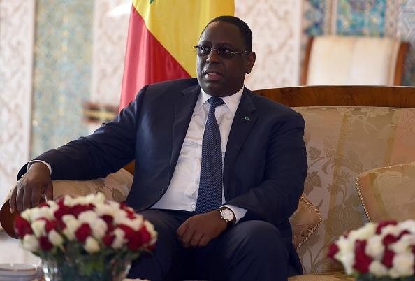 Senegal's President Macky Sall
