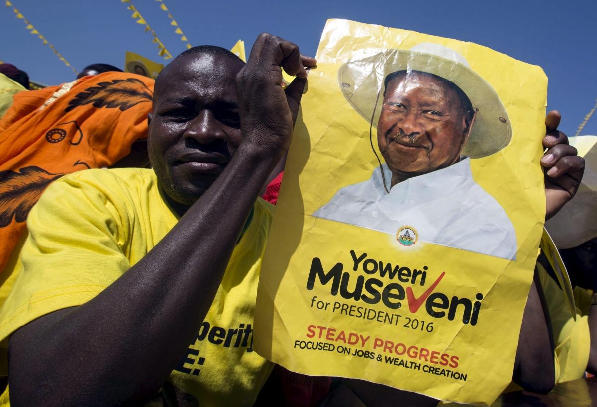Uganda presidential election Yoweri Museveni