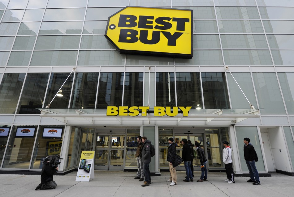 A 'Best Buy' store in Toronto
