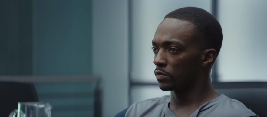 Anthony Mackie in Captain America: Civil War