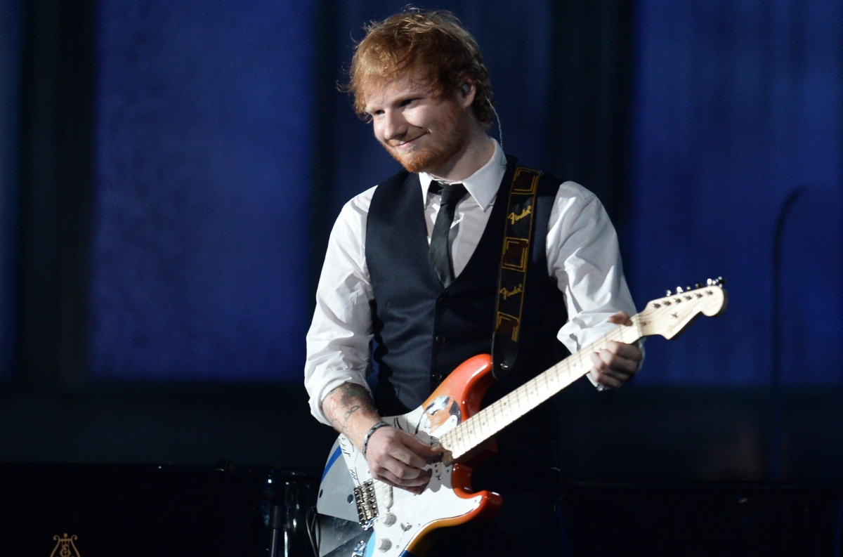 Ed Sheeran Debuts Two New Singles Castle On The Hill And