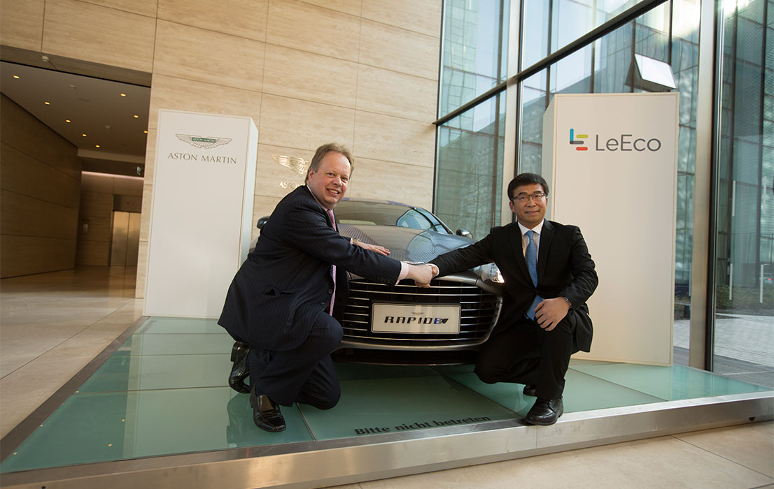 Aston Martin LeEco partnership