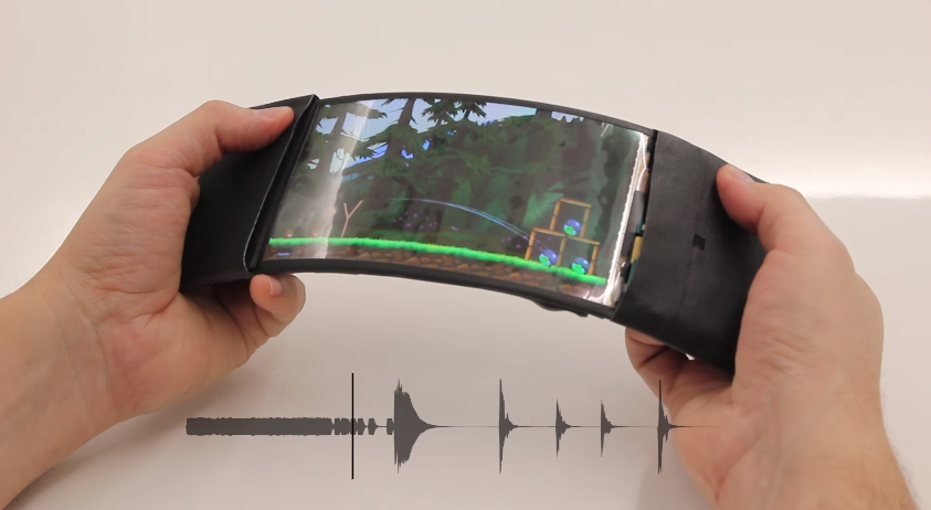 ReFlex: World's first flexible smartphone
