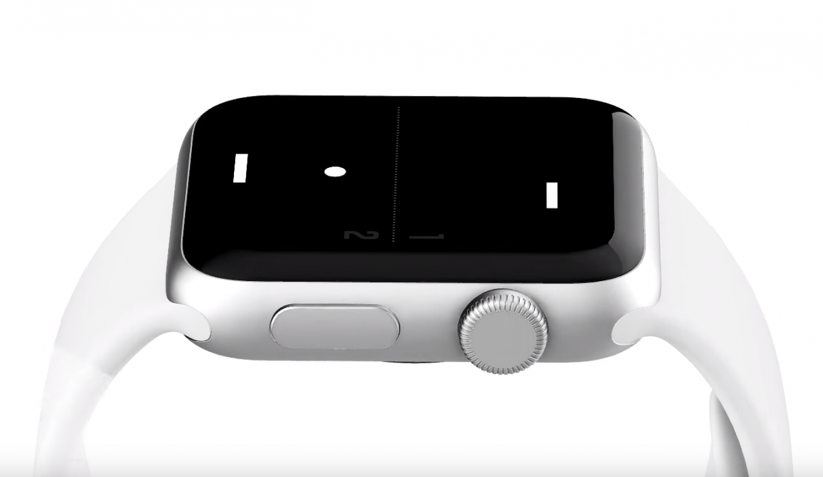 Apple Watch Pong