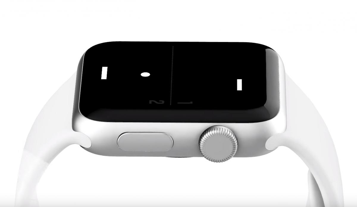 Apple Watch Pong