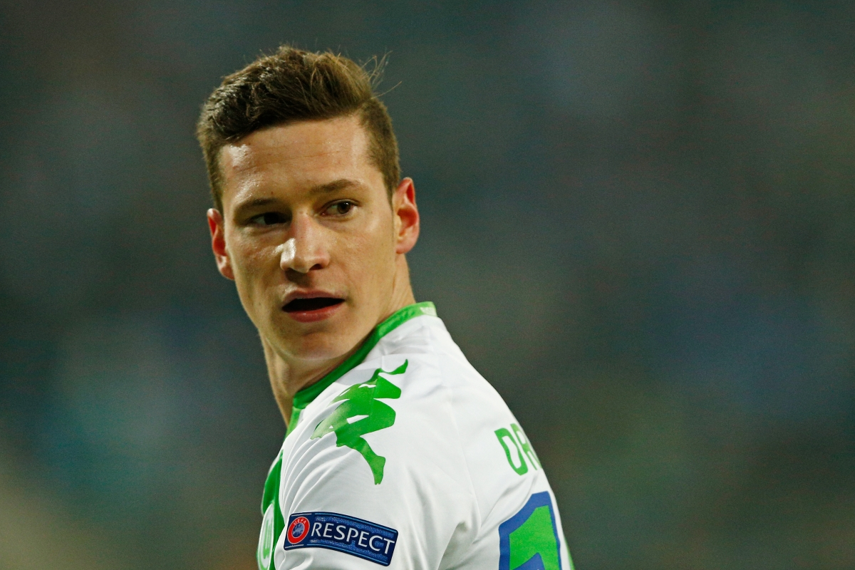 German star Julian Draxler