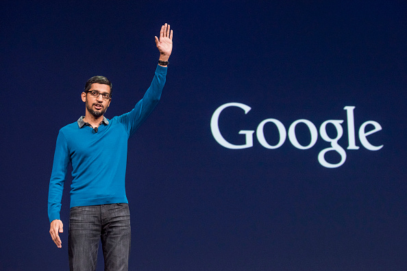 Google CEO backs Apple on the encryption debate provoked by the FBI's demand to Apple, to unlock the San Bernardino killer's iPhone