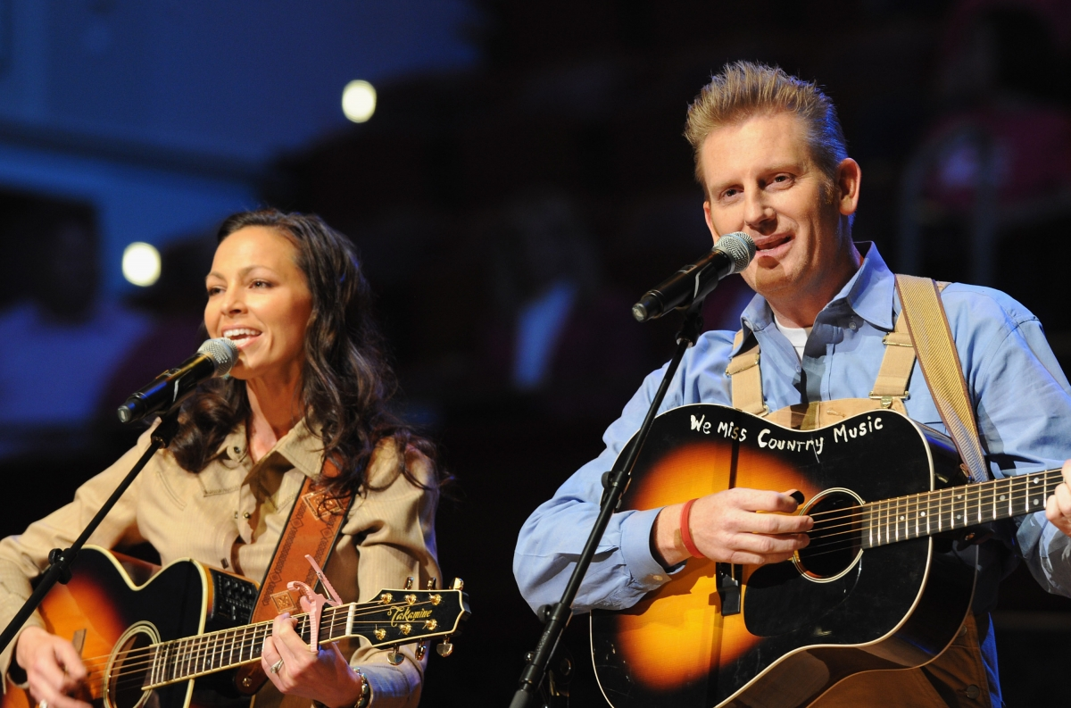Joey and Rory Feek