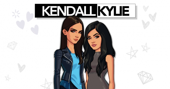 Kendall and Kylie Jenner launch new game and join ranks with Kim Kardashian in Glu mobile's celeb gaming crew