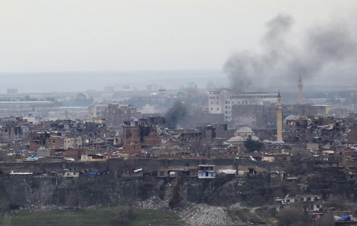 Turkey explosion  Diyarbakir