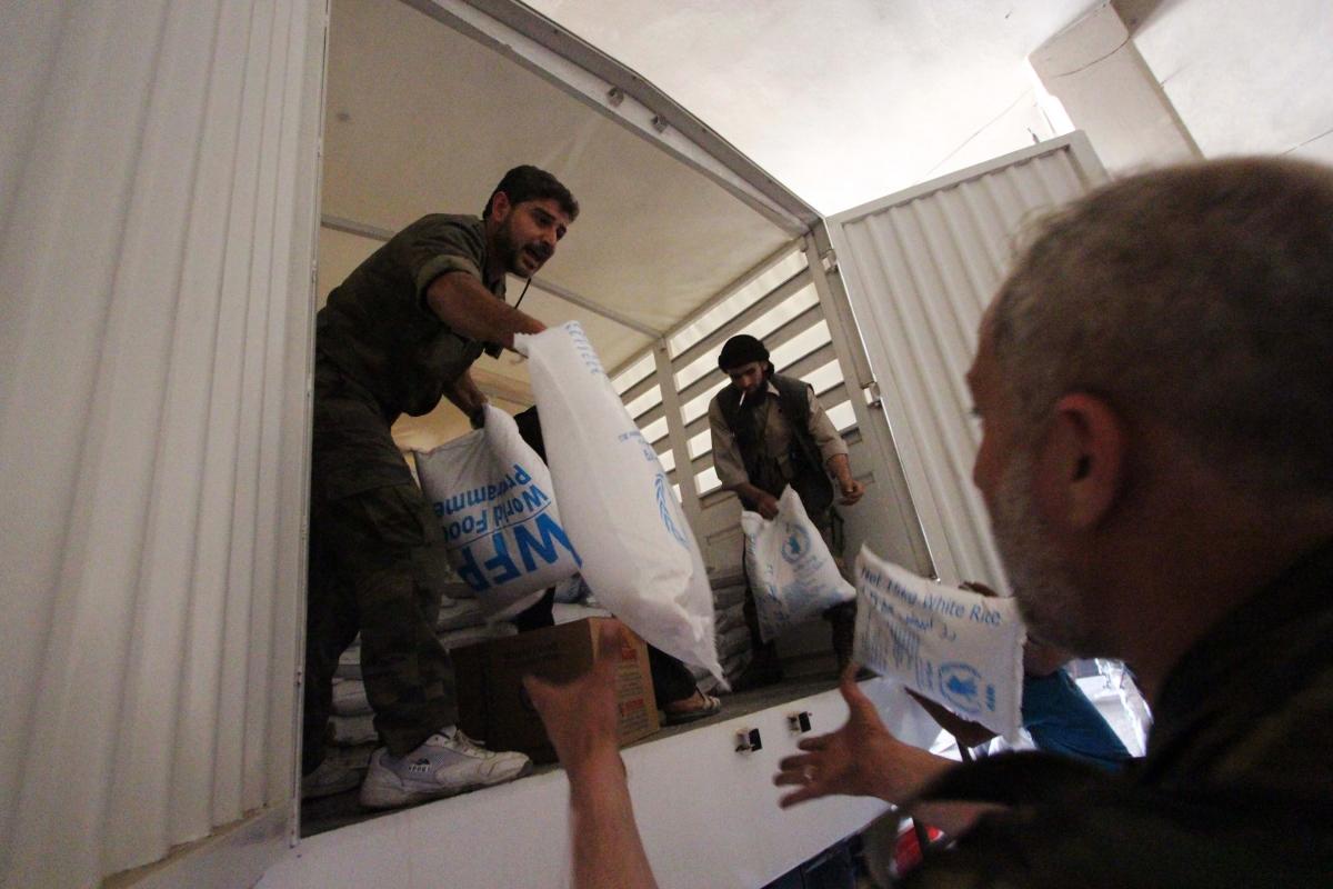 UN aid, Syria