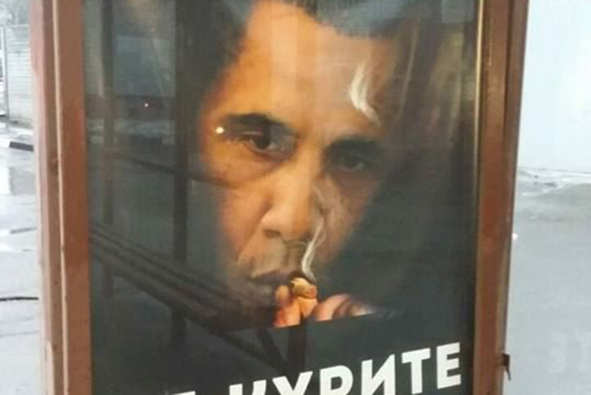 Obama ad Moscow