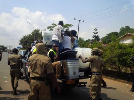 Police arrests voters in Uganda
