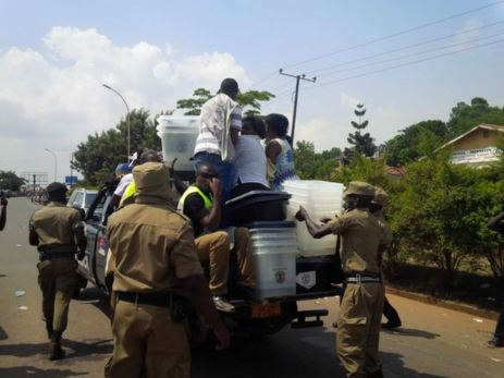 Police arrests voters in Uganda