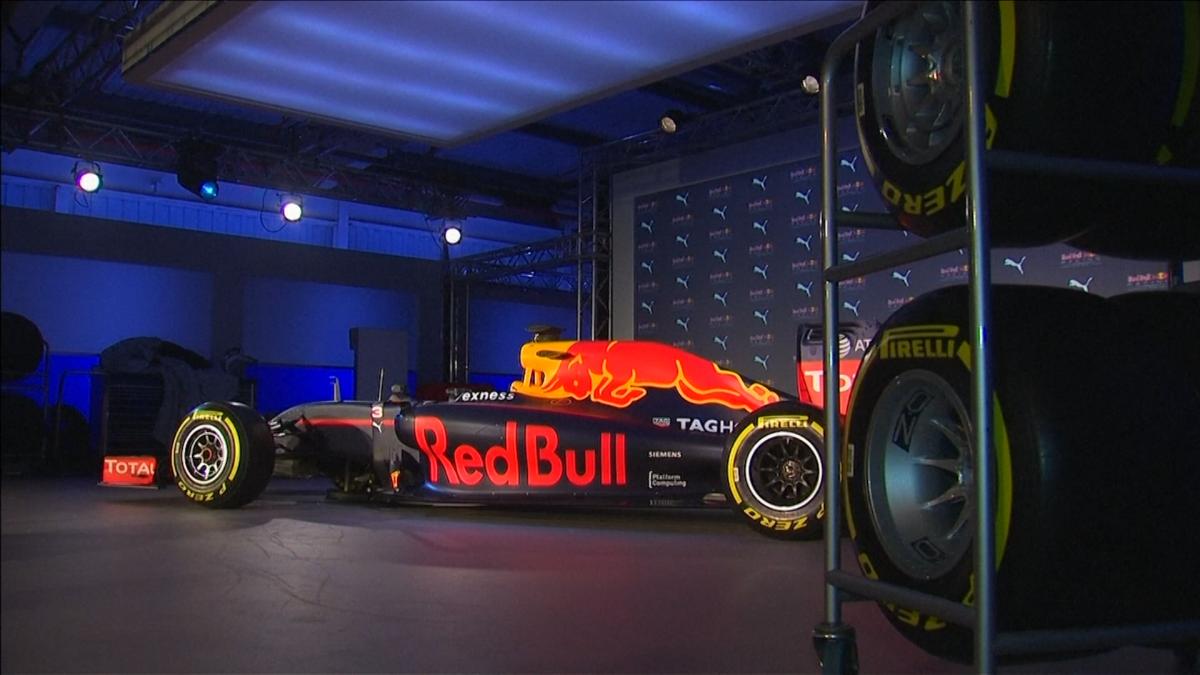 Red Bull's new car