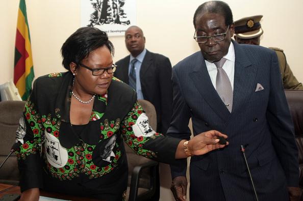 Joice Mujuru Zimbabwe