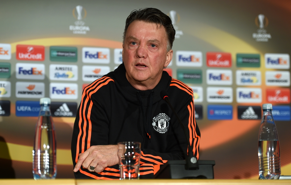 Louis Van Gaal Would Rather Manchester United Win FA Cup