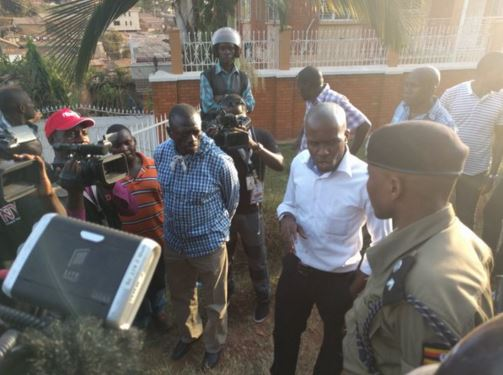 Vote rigging allegation in Uganda
