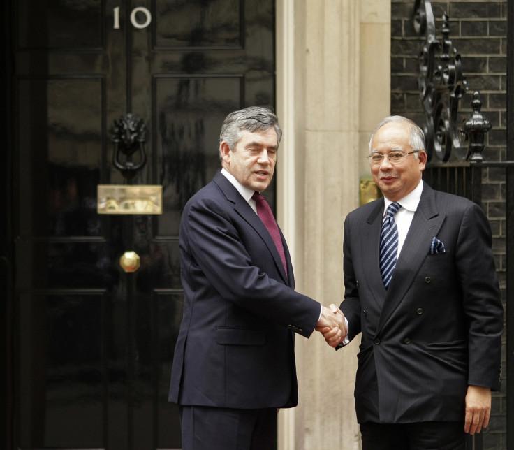 Gordon Brown Najob Razak