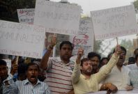 Indian students protest against BJP government
