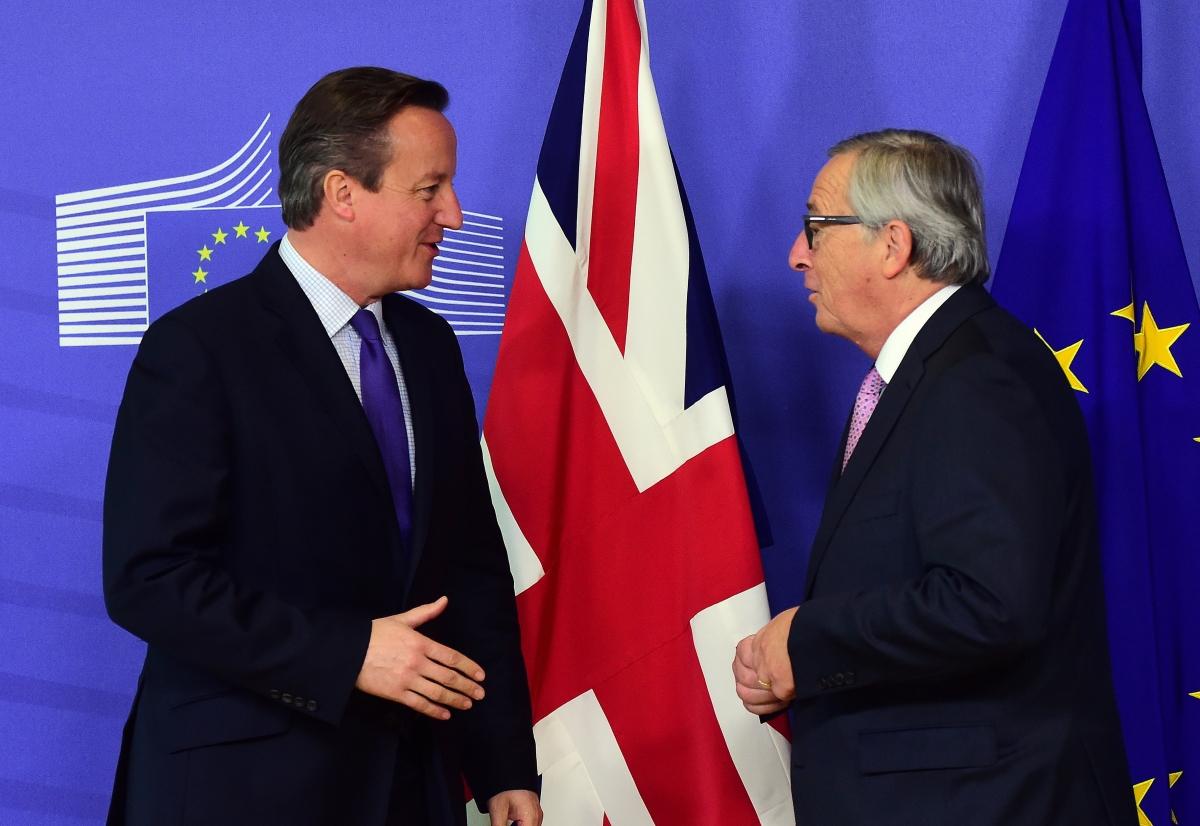 Cameron and Juncker