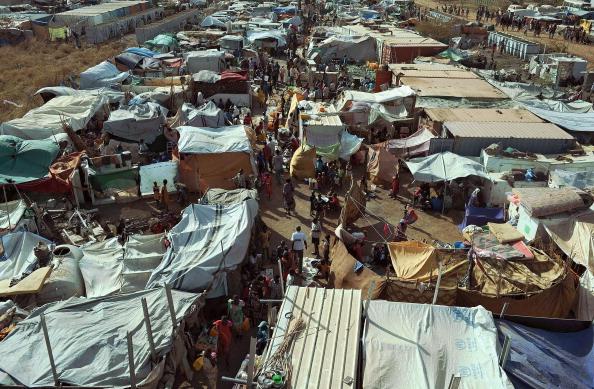 UN compund in Malakal, South Sudan