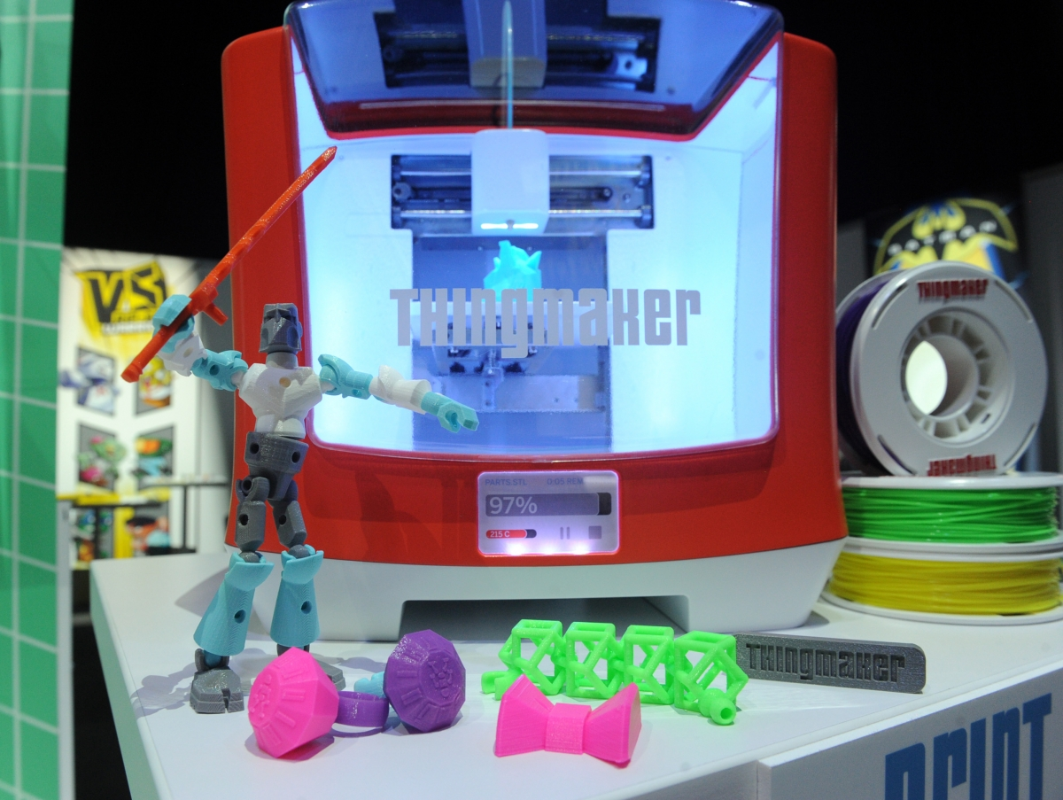 ThingMaker 3D by Mattel NY toy show