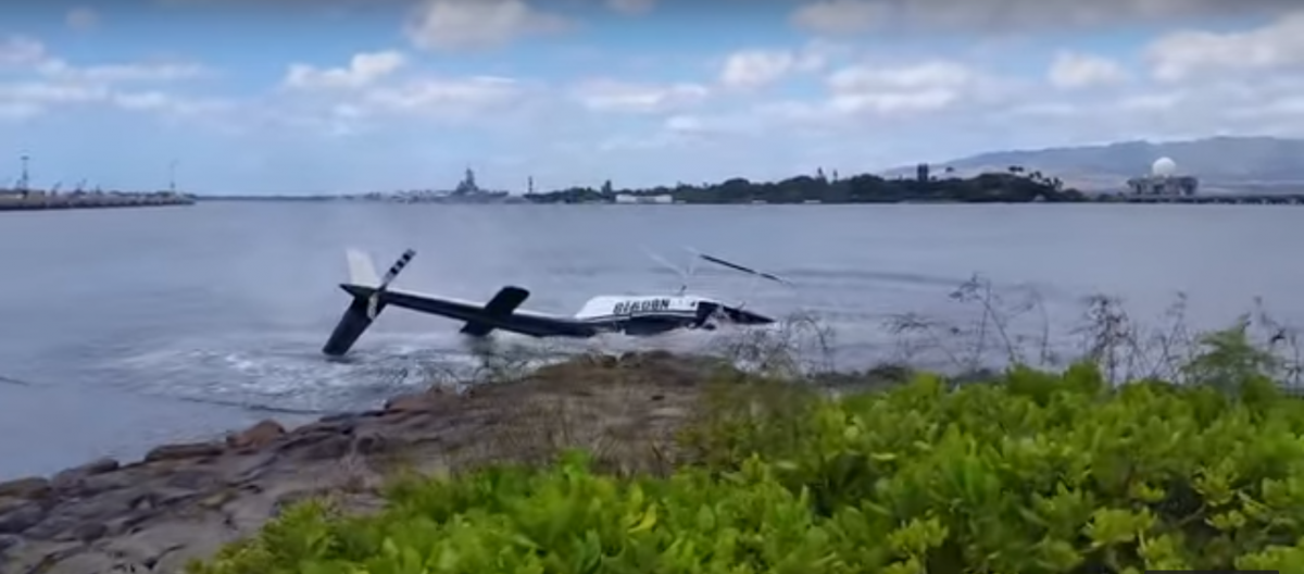 Pearl Harbor helicopter crash