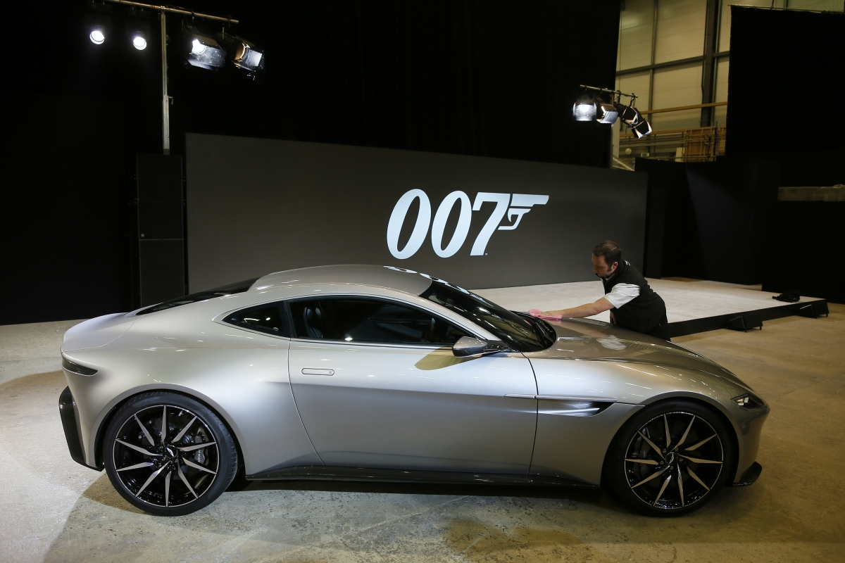 Aston Martin DB10 car